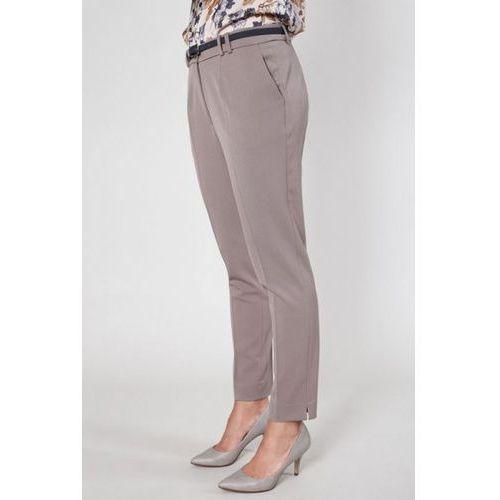 Spodnie damskie model andes 9587 beige, Click fashion
