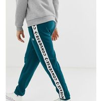 jogger with tape side stripe exclusive to asos - green, Converse, XS-XXL
