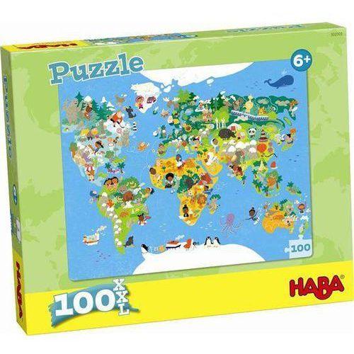 puzzle mapa 302003 marki Haba