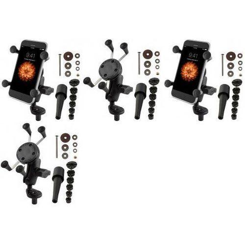 uniwersalny uchwyt x-grip™ do przenośnych urządzeń np. smartfon lub nawigacja samochodowa montowany w trzon widelca w marki Ram mounts