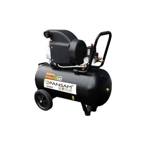 Pansam a077020 kompresor olejowy tłokowy z napędem 1500w 8bar 24l - oficjalny dystrybutor - autoryzowany dealer pansam