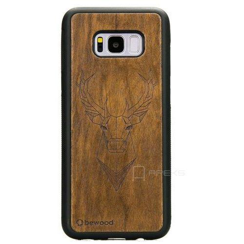 Bewood Jeleń Imbuia etui na telefon Samsung Galaxy S8 Plus - Jeleń Imbuia
