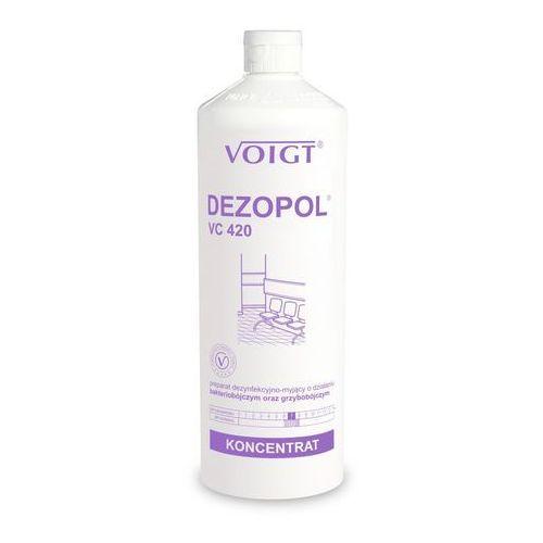 DEZOPOL 1 l gdy najważniejsza jest dezynfekcja - VC 420 VOIGT