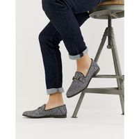 KG by Kurt Geiger George Glitter Snaffle Loafers - Grey