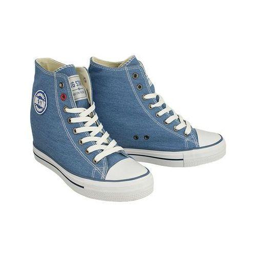 Big star u274901 niebieski, trampki, sneakersy damskie - niebieski