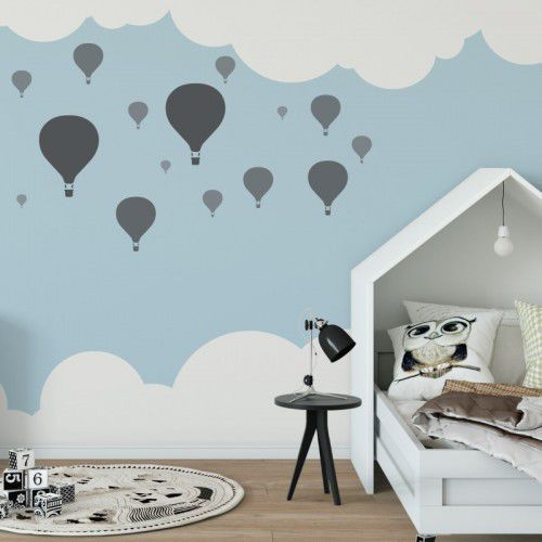 Nakleo Szablon malarski wielokrotny dla dzieci (5 szt.) // balony (5903175800213)