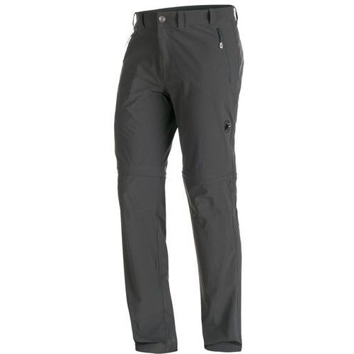 runbold spodnie długie mężczyźni szary de 46 2018 spodnie z odpinanymi nogawkami marki Mammut