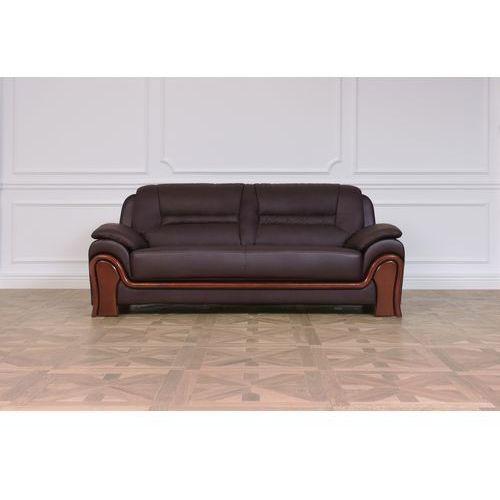 """Attribute=""""product brand""""} Sofa 3-osobowa palladio brązowy"""