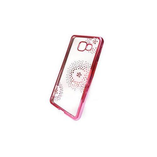 Obudowa dla telefonów komórkowych  flower dots pro samsung galaxy a3 (2016) (beasagaa32016tpuflpi) różowy marki Beeyo
