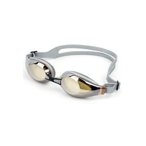 Okulary pływackie silikonowe szare marki Antares