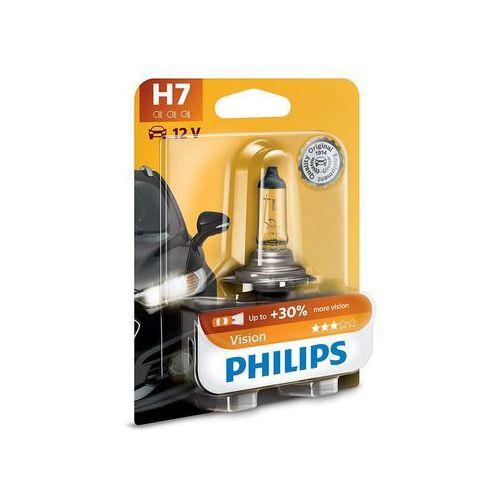 OKAZJA - Żarówka samochodowa Philips VISION 12972PRB1 H7 PX26d/55W/12V