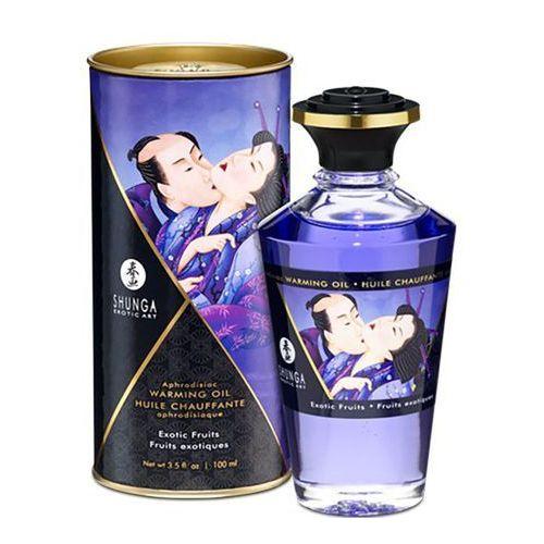 Olejek do masażu - aphrodisiac warming oil exotic fruits 100 ml marki Shunga