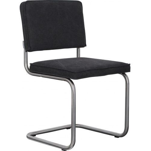 Zuiver Krzesło RIDGE BRUSHED VINTAGE czarne 1100116