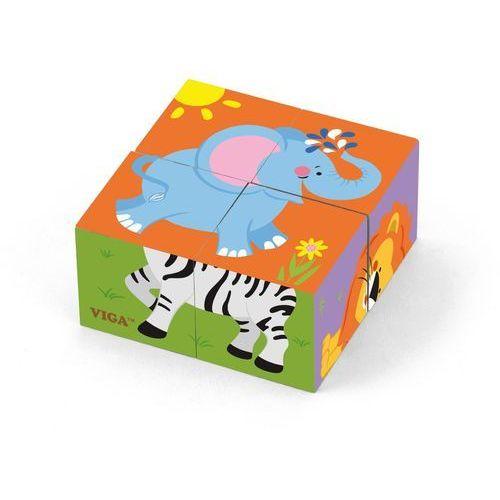 Viga 50836 kostki puzzle -zoo (0960, viga) (6934510508364)