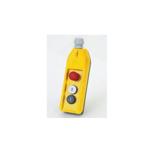 Grzybek (1NO+2NC), 2 przyciski do kontroli silnika 1kW, styki 2NO+1NC DC16
