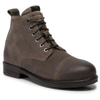 Pepe jeans Trzewiki - tom cut med suede pms50177 stag 884