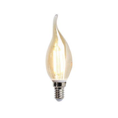 V-tac Led filament świeczka e14 4w 350 lumen ciepło biała 2200k