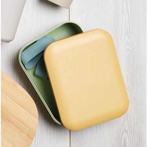 Kitchen craft Ekologiczne pudełko na lunch i kanapki natural elements (nelboxbf)