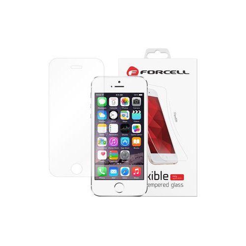 Apple iphone 5 / 5s - szkło hartowane flexible glass marki Forcell