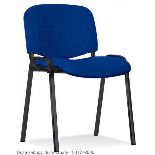 Nowy styl Krzesło iso czarne 20 szt paleta