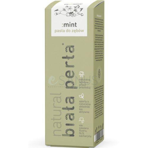 BIAŁA PERŁA NATURAL MINT - Wybielająca, naturalna pasta do zębów, miętowa, 75 ml, NOWOŚĆ!
