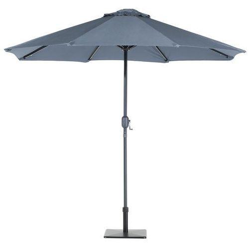 Parasol ogrodowy led Ø266 cm antracytowy rapallo marki Beliani