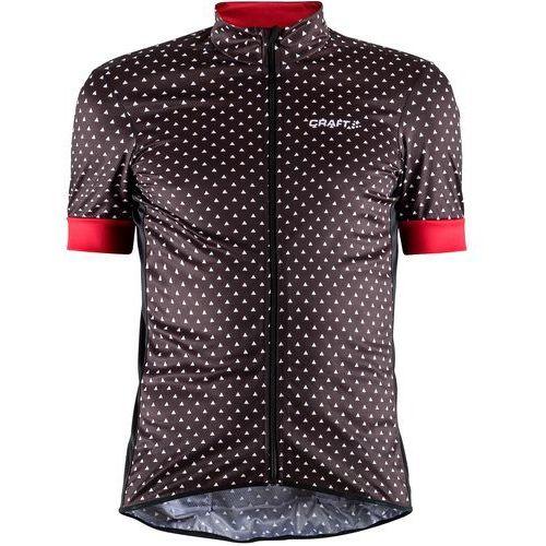 Craft koszulka rowerowa męska reel graphic, czarny z wzorem xl