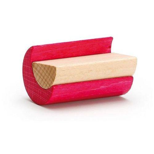 Drewniany zestaw klocków różowy - zabawki dla dzieci