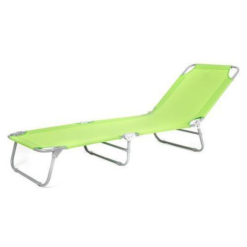 leżak plażowy składany sunbay zielony marki Happy green