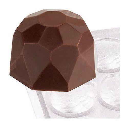 Mata z poliwęglanu do czekoladek, diament | CONTACTO, 6751/004