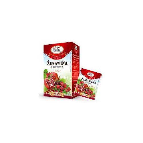 Herbata żurawina z granatem 20*2g MALWA, 34MALHERZZ