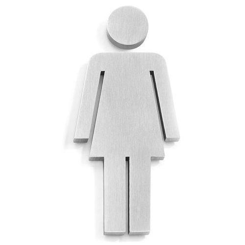 Zack Stalowy znaczek informacyjny kobieta indici (50724k)