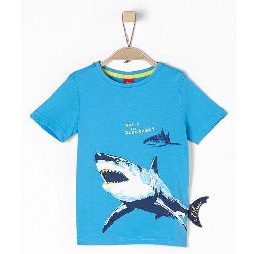 t-shirt chłopięcy 116 - 122, niebieski marki S.oliver