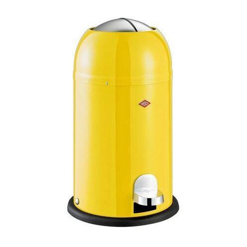 Wesco Kosz na śmieci żółty pedałowy kickmaster junior 12 litrów (180312-19)