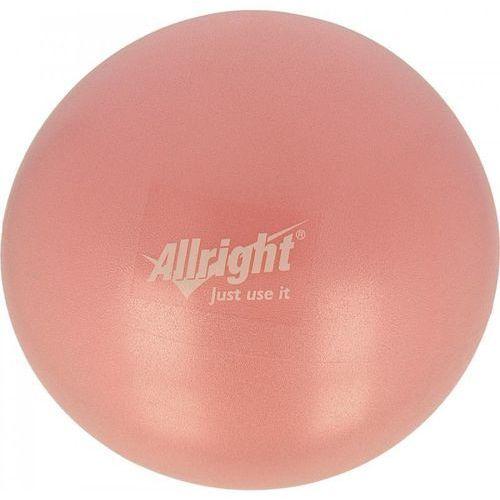 Piłka gimnastyczna over ball 18 i 26 cm pink marki Allright