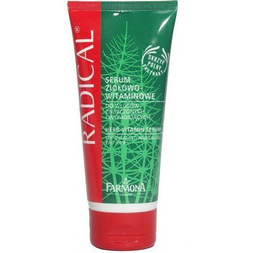 ziołowo-witaminowe serum do włosów suchych i zniszczonych 100ml marki Radical