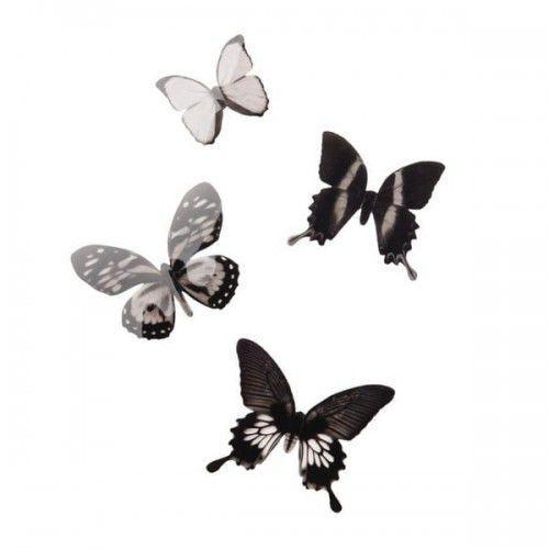 Umbra Dekoracja ścienna motyle 16 el. chrysalis