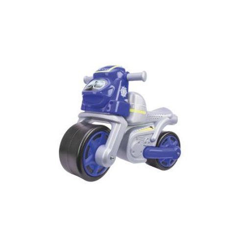 BIG Motor policyjny - niebieski