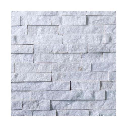 Kamień naturalny WALL CRAZY Snow white 40 x 10 cm KNAP (5903206050402)