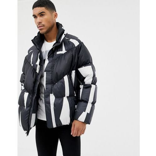 Nike Down Filled Jacket In All Over Print In White 928889-121 - White, w 6 rozmiarach