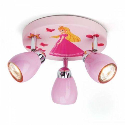 Brilliant Spotrondell princess g55934/17, gu10;2800 k, (Øxw) 20 cmx11 cm, różowy