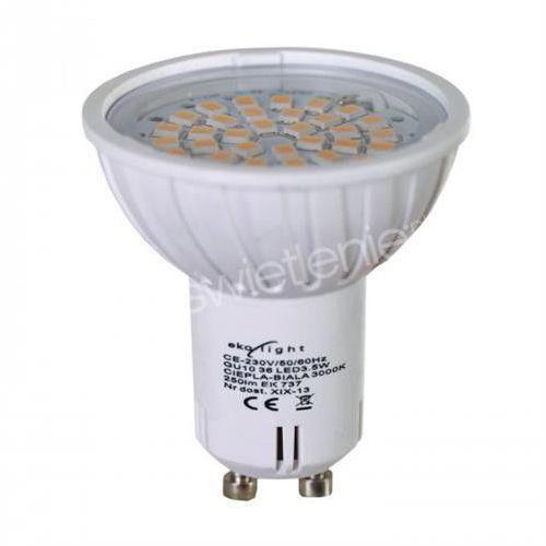 Żarówka 60 LED GU10 4W barwa zimna z kategorii Żarówki LED