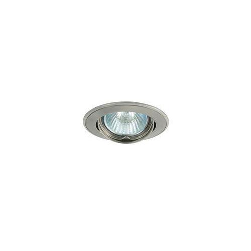 Greenlux Oczko halogenowe slash 5519 1xmr11/35w perłowy matny chrom/nikiel - gxpl036 (8592661001899)