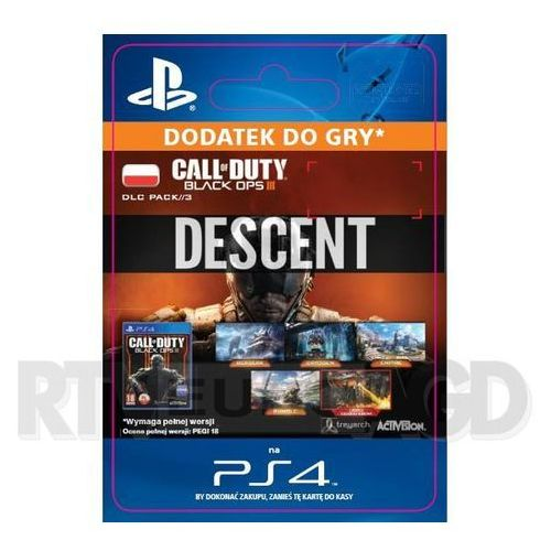 Call of Duty: Black Ops III - Descent DLC [kod aktywacyjny]