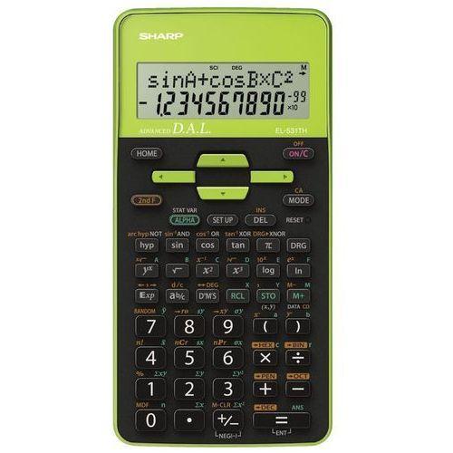 Kalkulator el-531th zielony marki Sharp