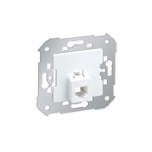 Kontakt-simon Gniazdo podtynkowe pojedyńcze tel 4 styki rj11 75480-30 simon 82