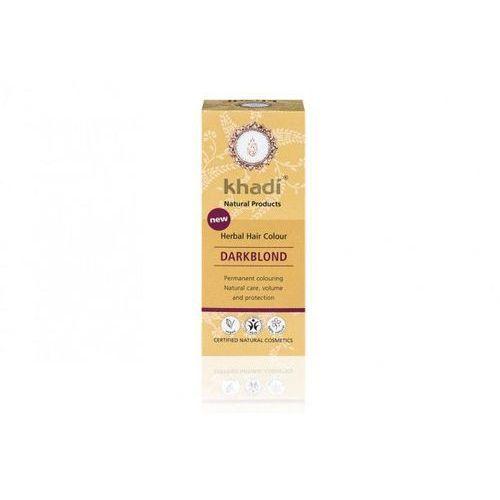 Khadi ziołowa farba do włosów ciemny blond 100g - ciemny blond