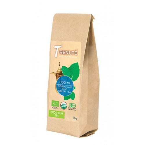 T'renute (herbaty) Herbata zielona z miętą cool me bio 75 g - t'renute