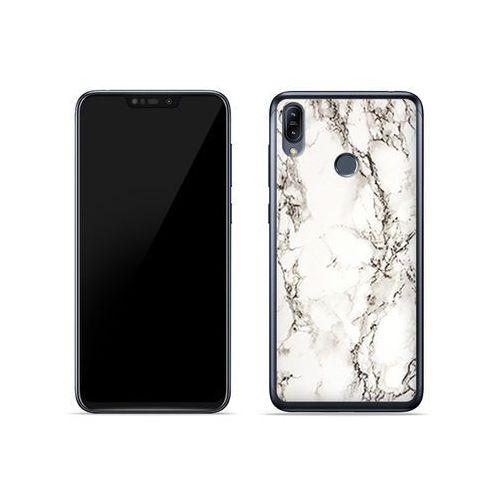 Asus zenfone max (m2) (zb633kl) - etui na telefon fantastic case - biały marmur marki Etuo fantastic case