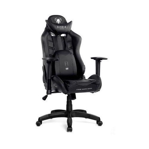 Diablo chairs Fotel dla gracza x-ray czarny rozmiar s
